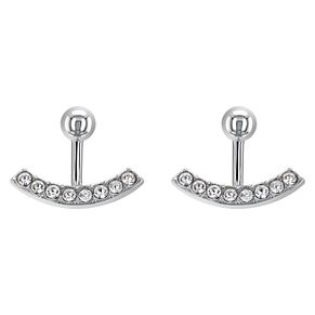 Tommy Hilfiger Ladies' Stainless Steel & Crystal Earrings - Product number 2331241