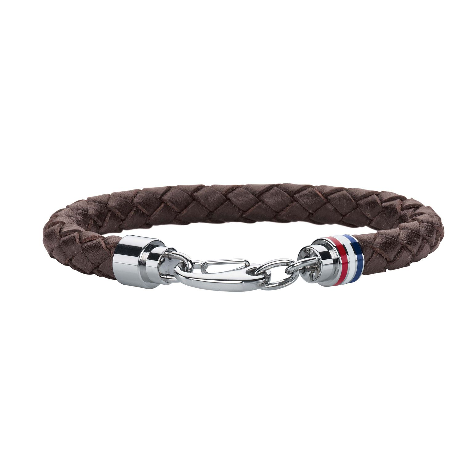 Tommy Hilfiger Men's Brown Leather Cord Bracelet - Product number 2331330