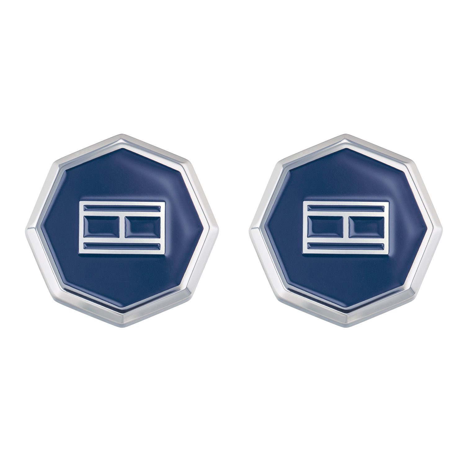 Tommy Hilfiger Men's Stainless Steel Octagonal Cufflinks - Product number 2331756