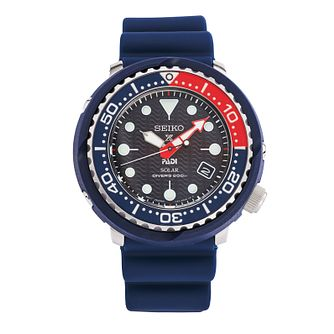 Seiko Prospex Men's Blue Silicone Strap Watch - Product number 2331764