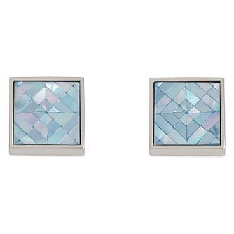 Simon Carter blue mother of pearl mosaic cufflinks - Product number 2334178