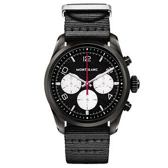 Montblanc Summit 2 Men's Black Nylon Strap Watch - Product number 2335042