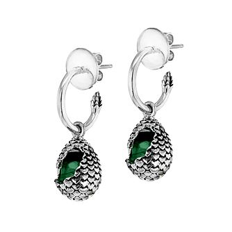 Mey For Game Of Thrones Dragonstone Green Hoop Earrings - Product number 2336065