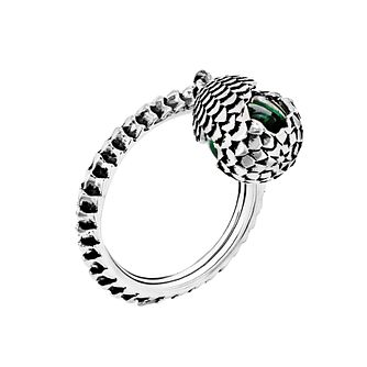 MEY for Game of Thrones Dragonstone Electric Green Ring - Product number 2337126