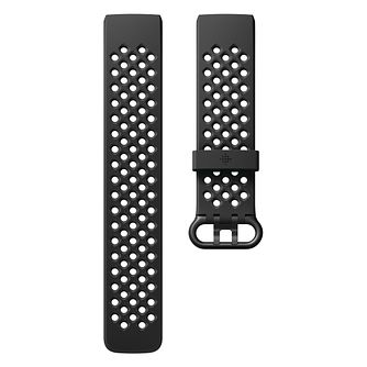 Fitbit Charge 3 Black Sport Band Fitness Tracker Large - Product number 2339633
