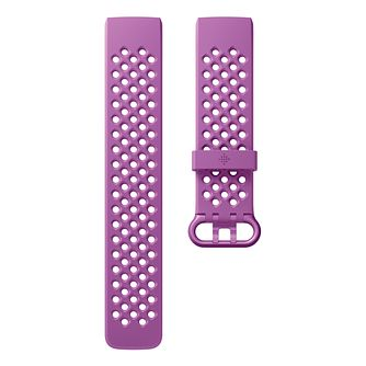 FitBit Charge 3 Berry Sport Band Fitness Tracker Large - Product number 2339668