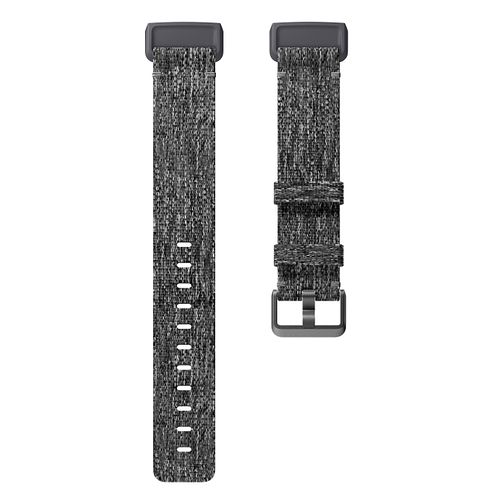 FitBit Charge 3 Charcoal Woven Band Fitness Tracker Small - Product number 2339676