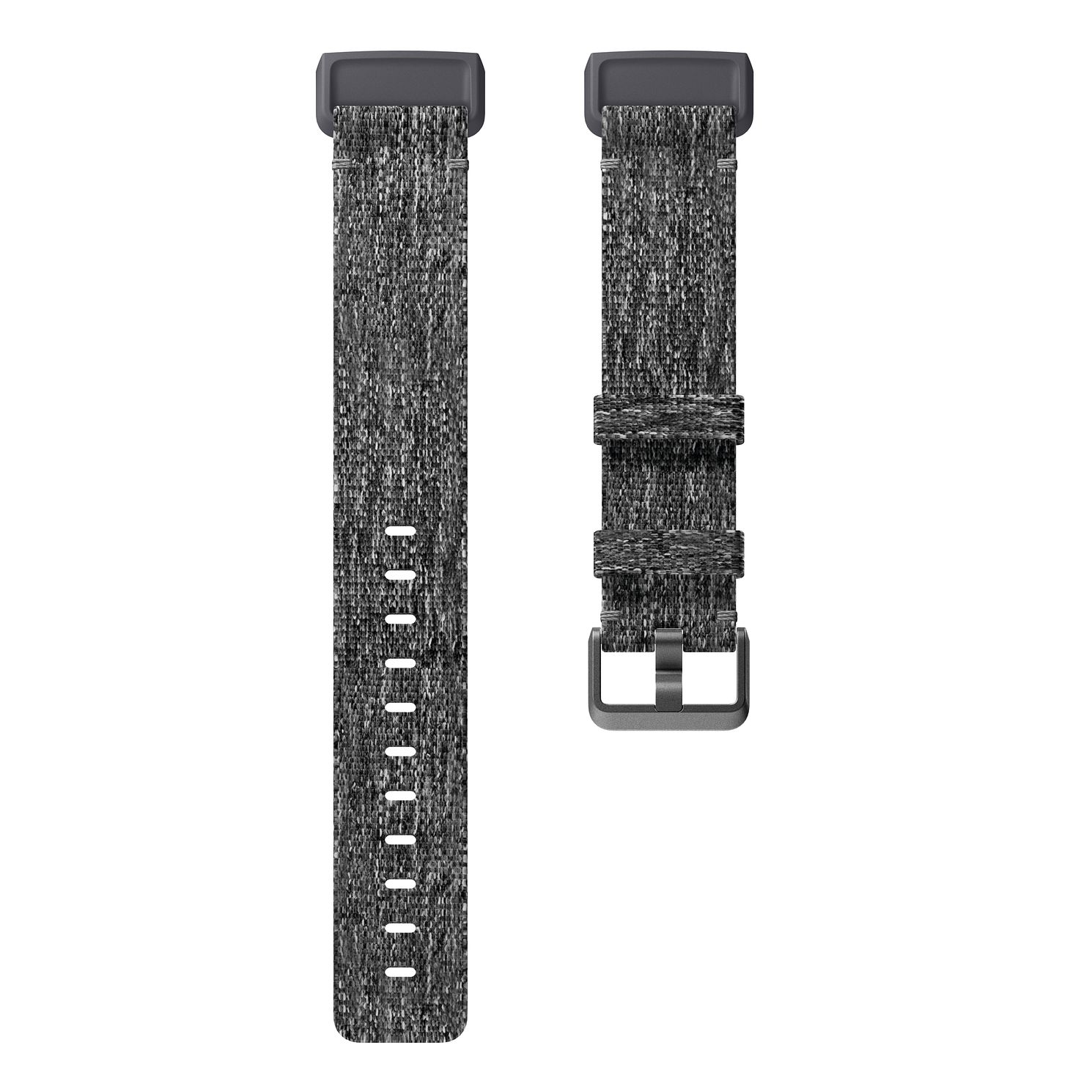 Fitbit Charge 3 Charcoal Woven Band Fitness Tracker Large - Product number 2339684