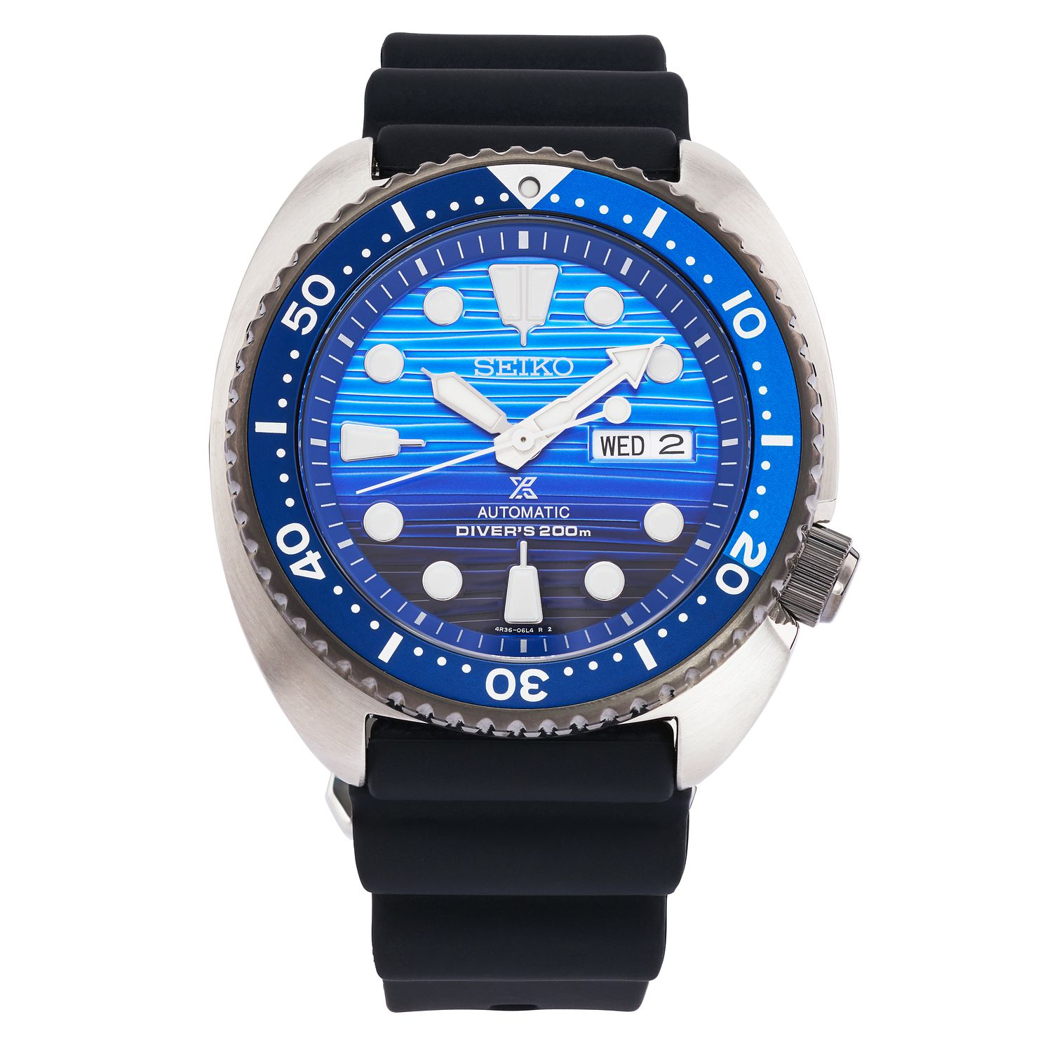 Seiko Prospex Save The Ocean Men's Silicone Strap Watch - Product number 2344726