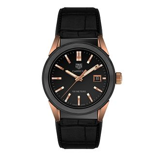 TAG Heuer Carrera Ladies' Black Strap Watch - Product number 2346761