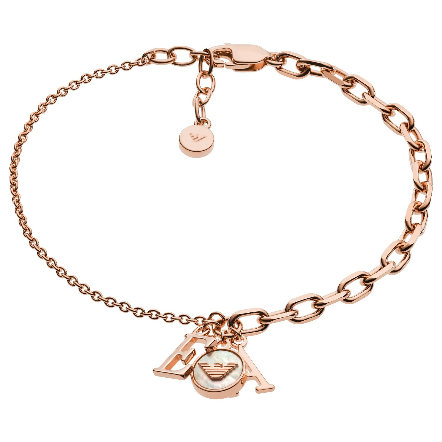 Emporio Armani Ladies' Rose Gold Tone Bracelet - Product number 2358263
