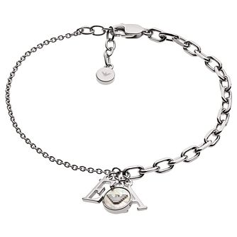 Emporio Armani Ladies' Sterling Silver Bracelet - Product number 2358271
