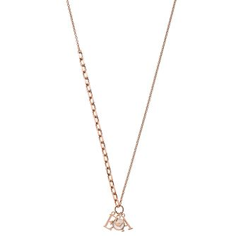 Emporio Armani Ladies' Rose Gold Tone Necklace - Product number 2358298