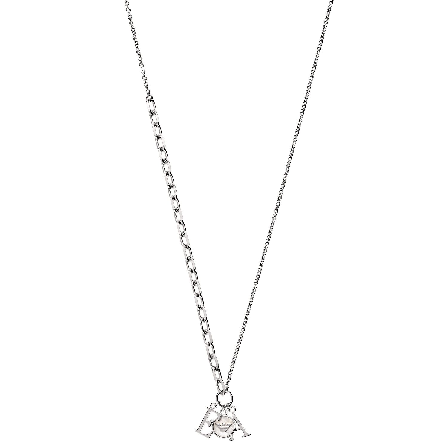 Emporio Armani Ladies' Sterling Silver Necklace - Product number 2358328