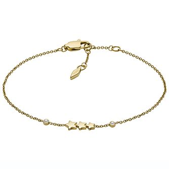 Fossil Shooting Star Gold Tone Bracelet - Product number 2358743