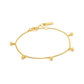 Ania Haie 14ct Yellow Gold Plated Orbit Drop Balls Bracelet - Product number 2363208