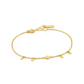 Ania Haie 14ct Yellow Gold Plated Geometry Disc Bracelet - Product number 2363380
