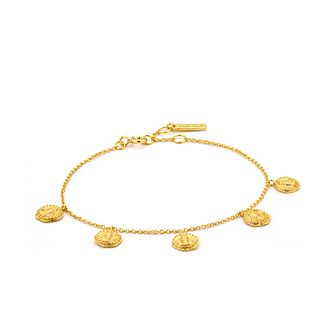 Ania Haie 14ct Yellow Gold Plated Deus Bracelet - Product number 2363399