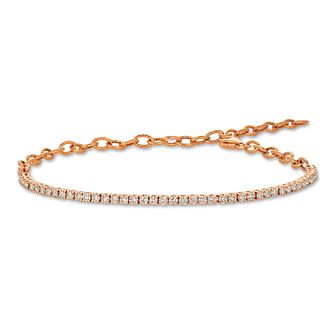 Le Vian 14ct Strawberry Gold 1.23ct Nude Diamond Bracelet - Product number 2373068