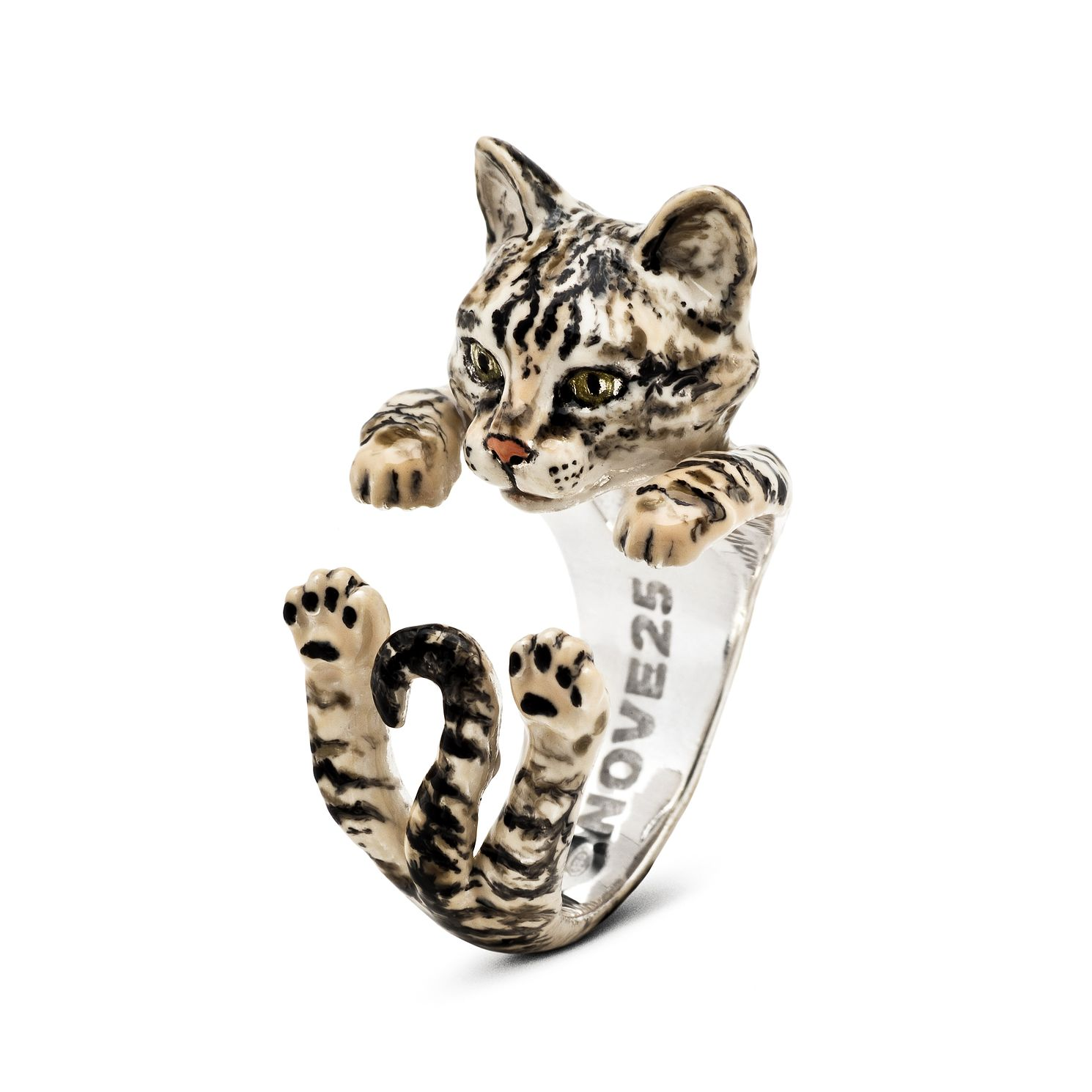 Cat Fever Striped European Tiger Hug Ring - S - Product number 2373386