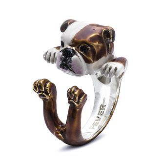 Dog Fever English Bulldog Hug Ring - XS - Product number 2373629
