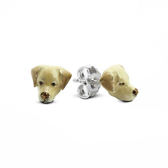 Dog Fever Labrador Retriever Muzzle Stud Earrings - Product number 2373726