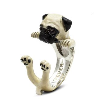 Dog Fever Pug Hug Ring - XXS - Product number 2374005