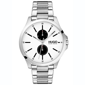 HUGO JUMP Men's Stainless Steel Bracelet Watch - Product number 2374552