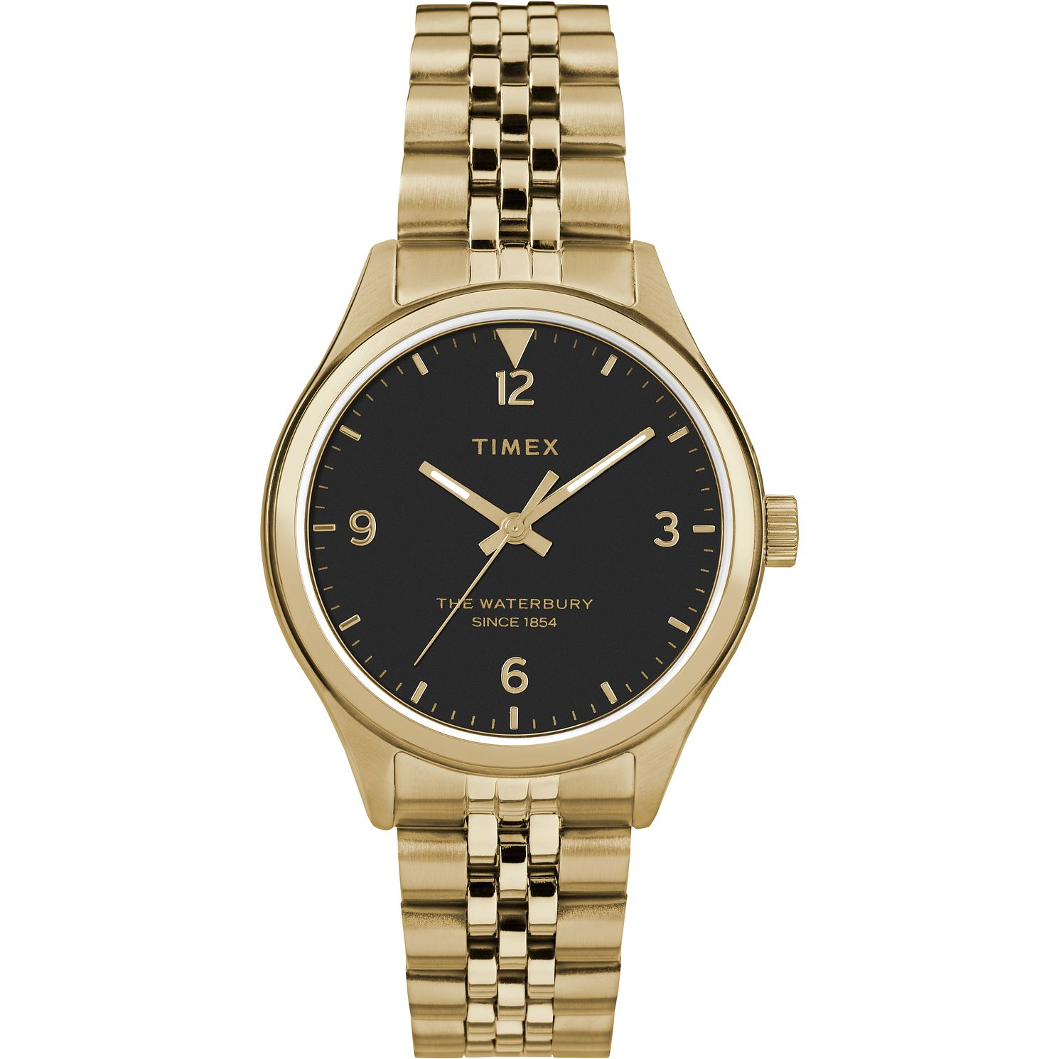 Timex Waterbury Traditional Ladies' Gold Tone Bracelet Watch - Product number 2374757