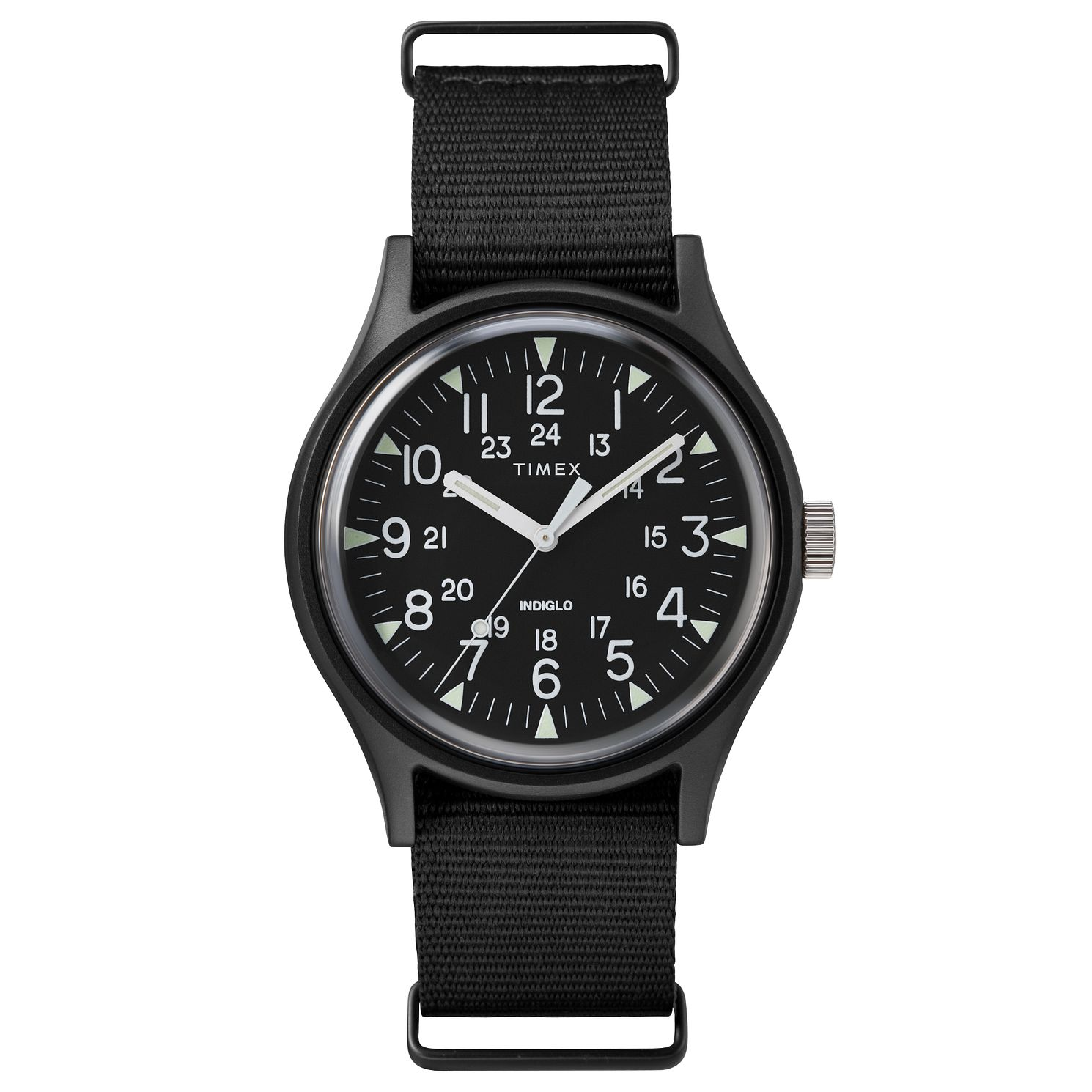 Timex MK1 Men's Black Fabric Watch - Product number 2374781
