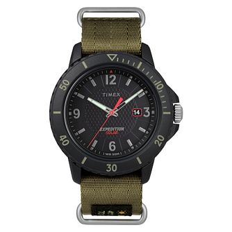Timex Expedition Gallatin Solar Men's Green Strap Watch - Product number 2374900