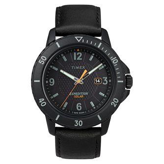 Timex Expedition Gallatin Solar Men's Black Strap Watch - Product number 2374919
