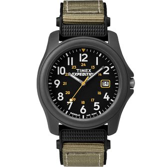 Timex Expedition Camper Men's Grey Fabric Strap Watch - Product number 2374978