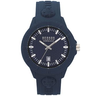 Versus Versace Tokyo R Blue Silicone Strap Watch - Product number 2375028