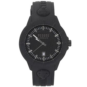 Versus Versace Tokyo R Black Silicone Strap Watch - Product number 2375036