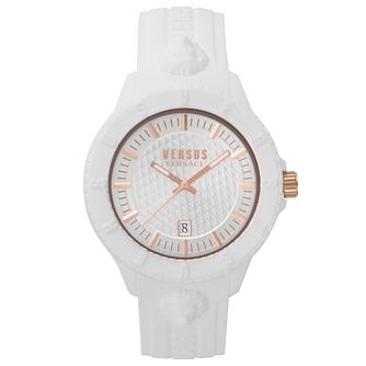 Versus Versace Tokyo R White Silicone Strap Watch - Product number 2375044