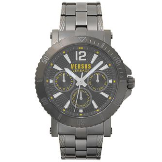 Versus Versace Steenberg Gunmetal IP Bracelet Watch - Product number 2375060