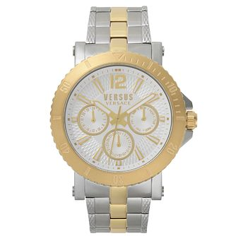 Versus Versace Steenberg Two Tone Bracelet Watch - Product number 2375079
