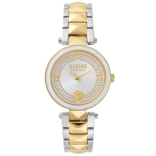 Versus Versace Covent Garden Crystal Two Tone Bracelet Watch - Product number 2375087