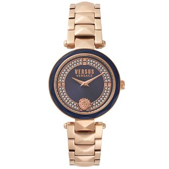 Versus Versace Covent Garden Rose Gold IP Bracelet Watch - Product number 2375095