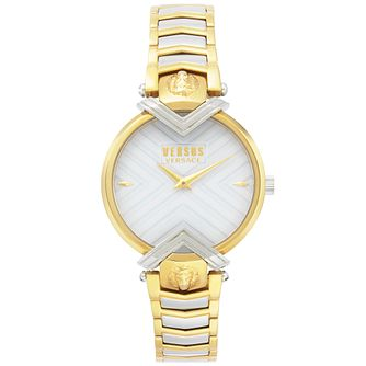 Versus Versace Mabillon Two Tone Bracelet Watch - Product number 2375133
