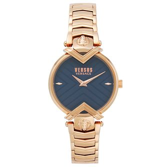 Versus Versace Mabillon Rose Gold IP Bracelet Watch - Product number 2375141