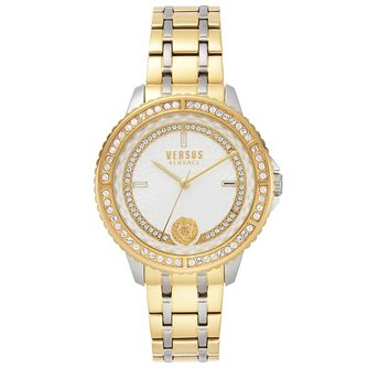 Versus Versace Montorgueil Gold Tone Bracelet Watch - Product number 2375176
