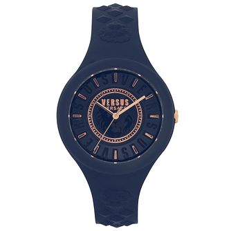 Versus Versace Fire Island Blue Silicone Strap Watch - Product number 2375184