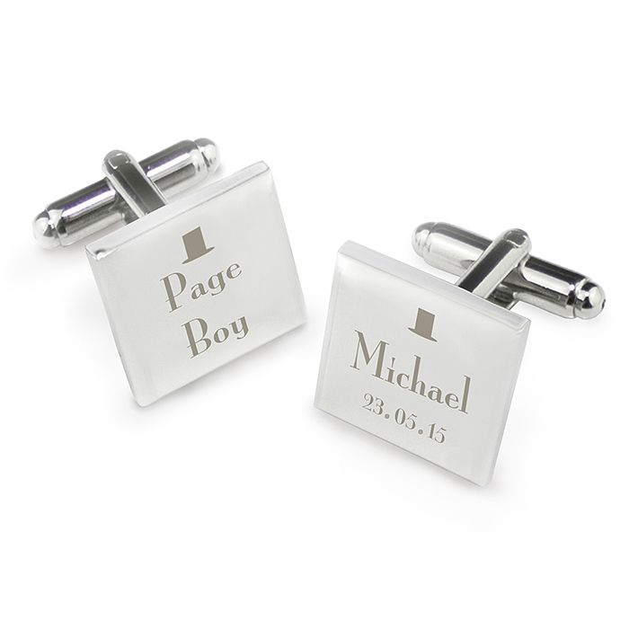Decorative Wedding Page Boy Cufflinks - Product number 2392070