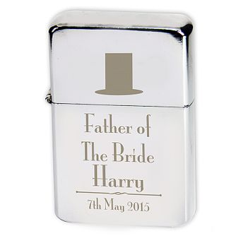 Decorative Wedding Father of the Bride Lighter - Product number 2392151