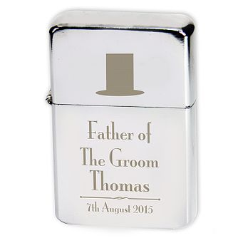 Decorative Wedding Father of the Groom Lighter - Product number 2392178