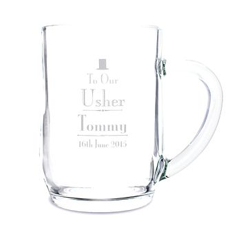 Decorative Wedding Usher Tankard - Product number 2392186
