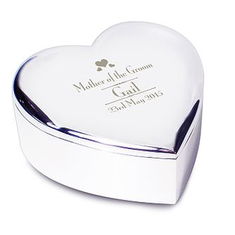 Decorative Wedding Mother of the Groom Heart Trinket - Product number 2393816