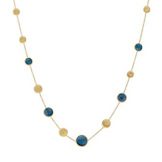 Marco Bicego Jaipur 18ct Yellow Gold London Topaz Necklace - Product number 2394766